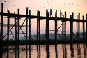 U-Bein Bridge at Sunrise